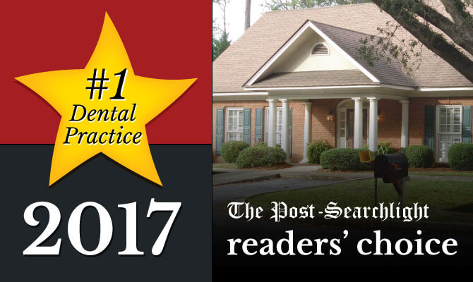 readers choice award for top dentist